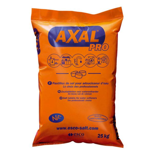 Мешок 25кг соли Axal Pro