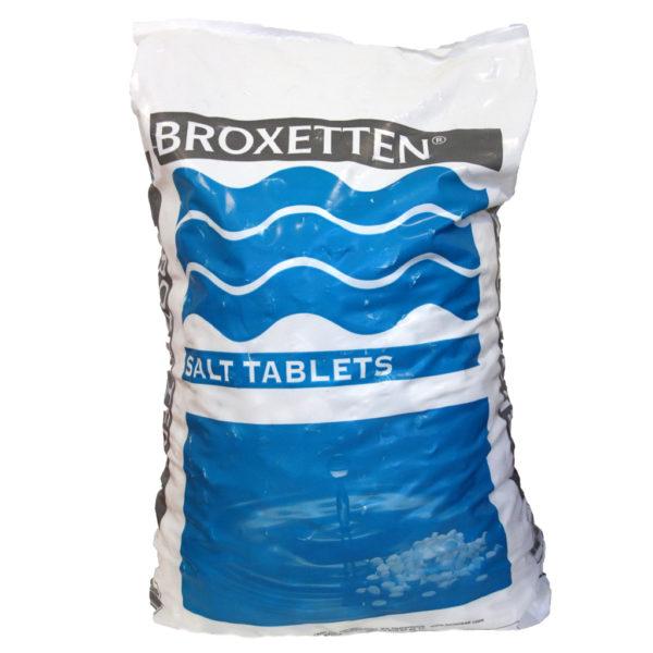 Мешок 25кг соли Broxetten